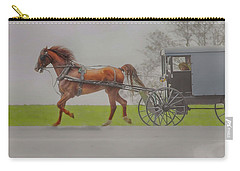 Amish Sunday Ride Carry-all Pouch