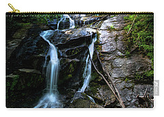 Ammon Creek Falls Carry-all Pouch by Barbara Bowen