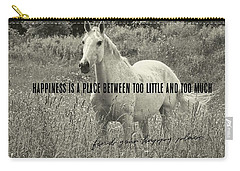 Among The Daisies Quote Carry-all Pouch