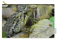 Carry-all Pouch featuring the digital art Among The Leaves by Kathy Kelly