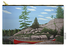 Among The Rocks II Carry-all Pouch by Kenneth M  Kirsch