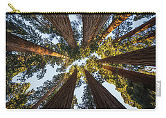 Amongst The Giant Sequoias Carry-all Pouch by Alpha Wanderlust