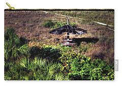 Carry-all Pouch featuring the photograph Almost Paradise by Tom Prendergast