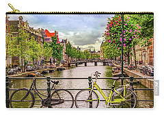 Amsterdam Bicycles Carry-all Pouch by Janis Knight
