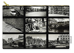 Amsterdam By Jenny Rainbow Carry-all Pouch