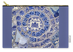 Amsterdam In Blue Carry-all Pouch