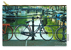 Carry-all Pouch featuring the photograph Amsterdam Scene by Allen Beatty