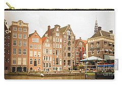 Carry-all Pouch featuring the photograph Amsterdam Scene by Therese Alcorn