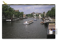 Amsterdam Water Scene Carry-all Pouch by Sally Weigand