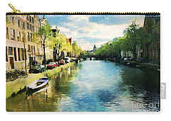 Amsterdam Waterways Carry-all Pouch