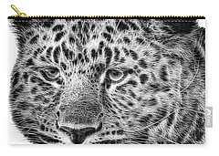 Amur Leopard Carry-all Pouch by John Edwards