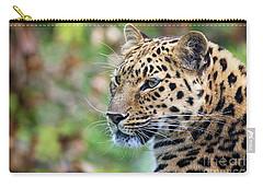 Amur Leopard Portrait Carry-all Pouch