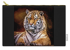 Amur Tiger Carry-all Pouch by Brian Tarr