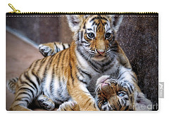 Amur Tiger Cubs Carry-all Pouch