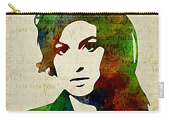 Amy Winehouse Watercolor Carry-all Pouch