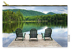 Carry-all Pouch featuring the photograph An Adirondack Panorama by David Patterson