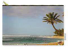 An Afternoon At Sunset Beach Carry-all Pouch