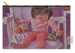 An Afternoon With Ava Carry-all Pouch