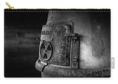 Carry-all Pouch featuring the photograph An Antique Stove by Doug Camara