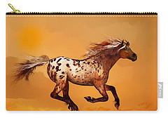 An Appaloosa Called Ginger Carry-all Pouch