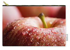 Carry-all Pouch featuring the photograph An Apple A Day... by Yvette Van Teeffelen