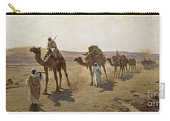 An Arab Caravan Carry-all Pouch by Ludwig Hans Fischer