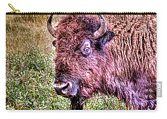 An Astonished Bison Carry-all Pouch
