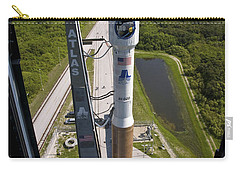 An Atlas V Rocket On The Launch Pad Carry-all Pouch by Stocktrek Images