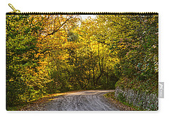 An Autumn Landscape - Hdr 2  Carry-all Pouch