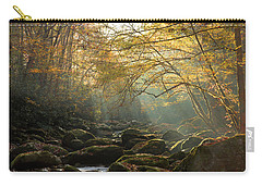 An Autumn Morning Carry-all Pouch by Mike Eingle