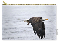 An Eagles Catch 11 Carry-all Pouch by Brook Burling