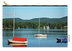 An Early Calm On A Berkshire Lake Carry-all Pouch by James Kirkikis