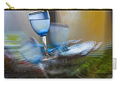 Carry-all Pouch featuring the photograph The Earth Quake by Vladimir Kholostykh