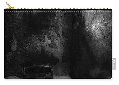 Carry-all Pouch featuring the photograph An Empty Cell In Old Cork City Gaol by RicardMN Photography