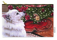 An Eskie Christmas Carry-all Pouch