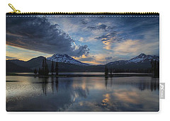 An Evening At Sparks Lake Carry-all Pouch by Lynn Hopwood