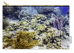 Carry-all Pouch featuring the photograph An Explosion Of Life II by Perla Copernik