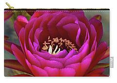 Carry-all Pouch featuring the photograph An Inner Beauty by Saija Lehtonen