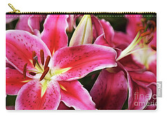 An Inviting Lily Carry-all Pouch
