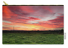 An Irish Landscape Carry-all Pouch by Martina Fagan