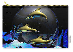 An Ocean Full Of Tears Carry-all Pouch by Robert Orinski