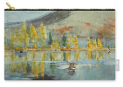 An October Day Carry-all Pouch by Winslow Homer