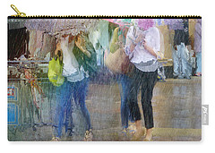 Carry-all Pouch featuring the photograph An Odd Sharp Shower by LemonArt Photography