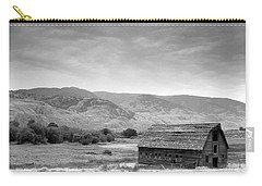 An Old Barn Carry-all Pouch by Mark Alan Perry