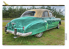 Carry-all Pouch featuring the photograph An Old Chevy By The Road In Rural Maine by Guy Whiteley