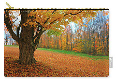 An Old Maple Tree In Autumn Color Carry-all Pouch
