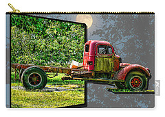 Carry-all Pouch featuring the photograph An Old Relic by EricaMaxine  Price