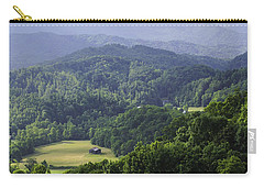 An Old Shack Hidden Away In The Blue Ridge Mountains Carry-all Pouch