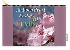 An Open Heart Knows No Limits Carry-all Pouch