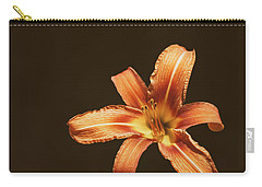 An Orange Lily Carry-all Pouch